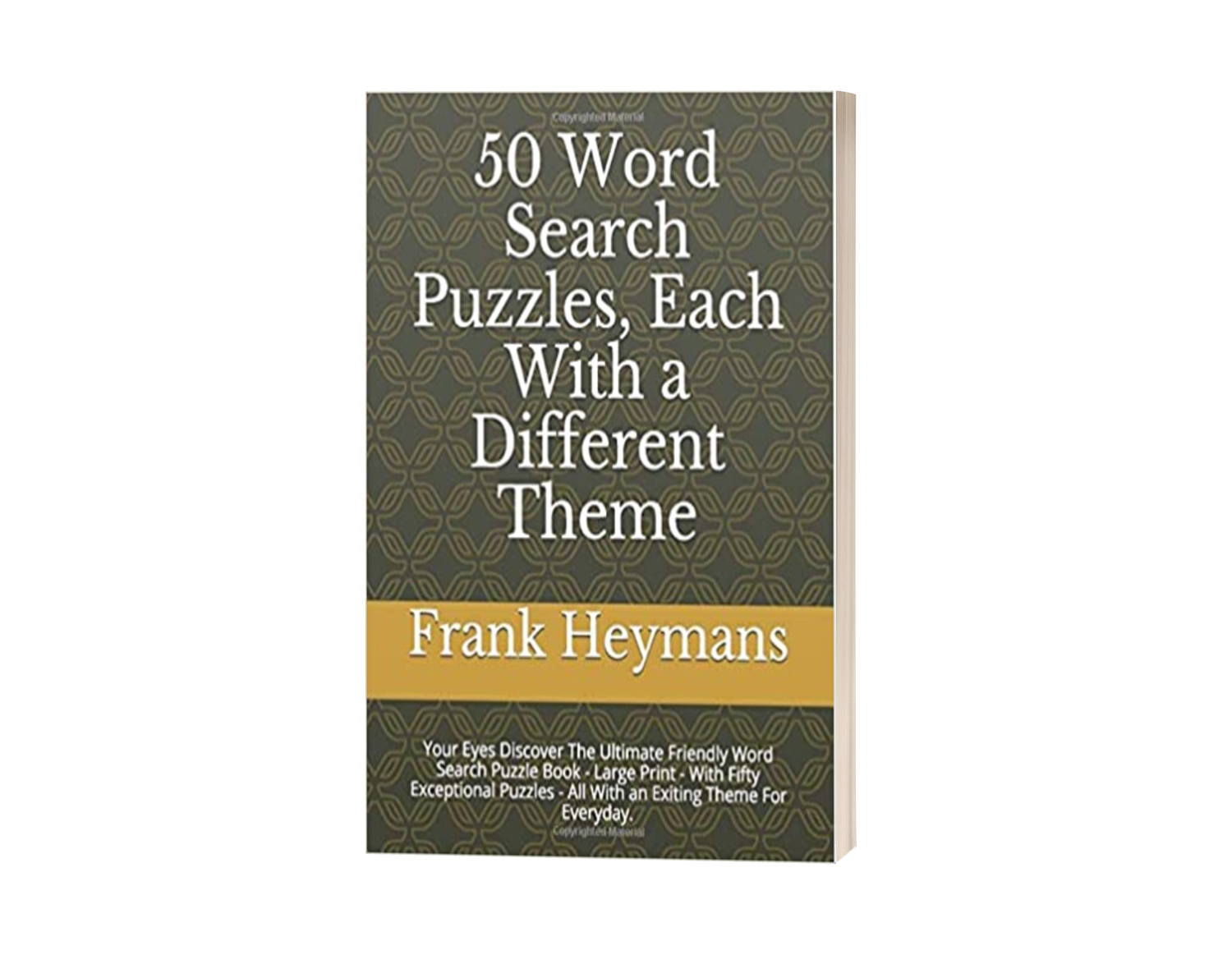 50 Word Search Puzzles, Each With a Different Theme