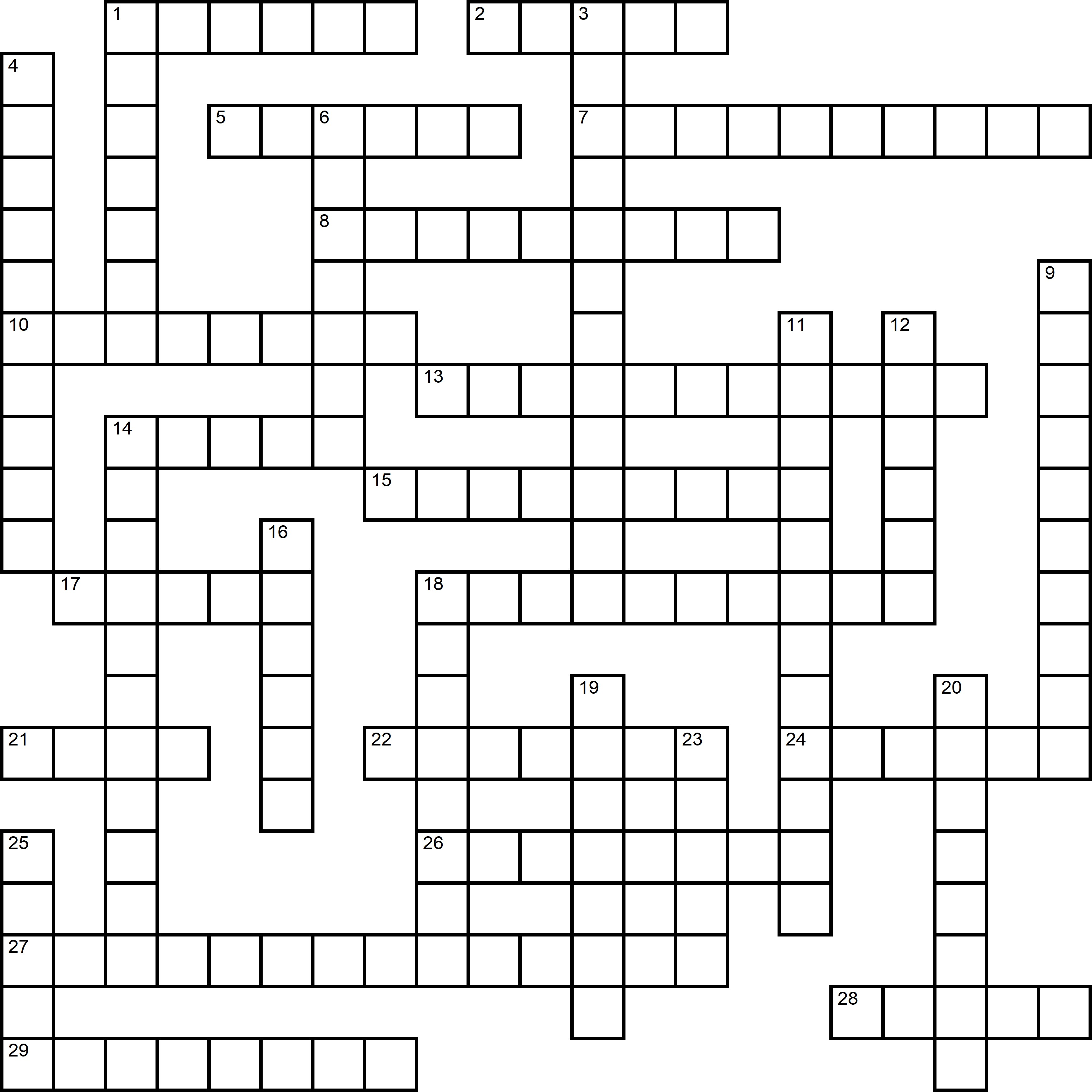 Easy Crossword About Fathers Day