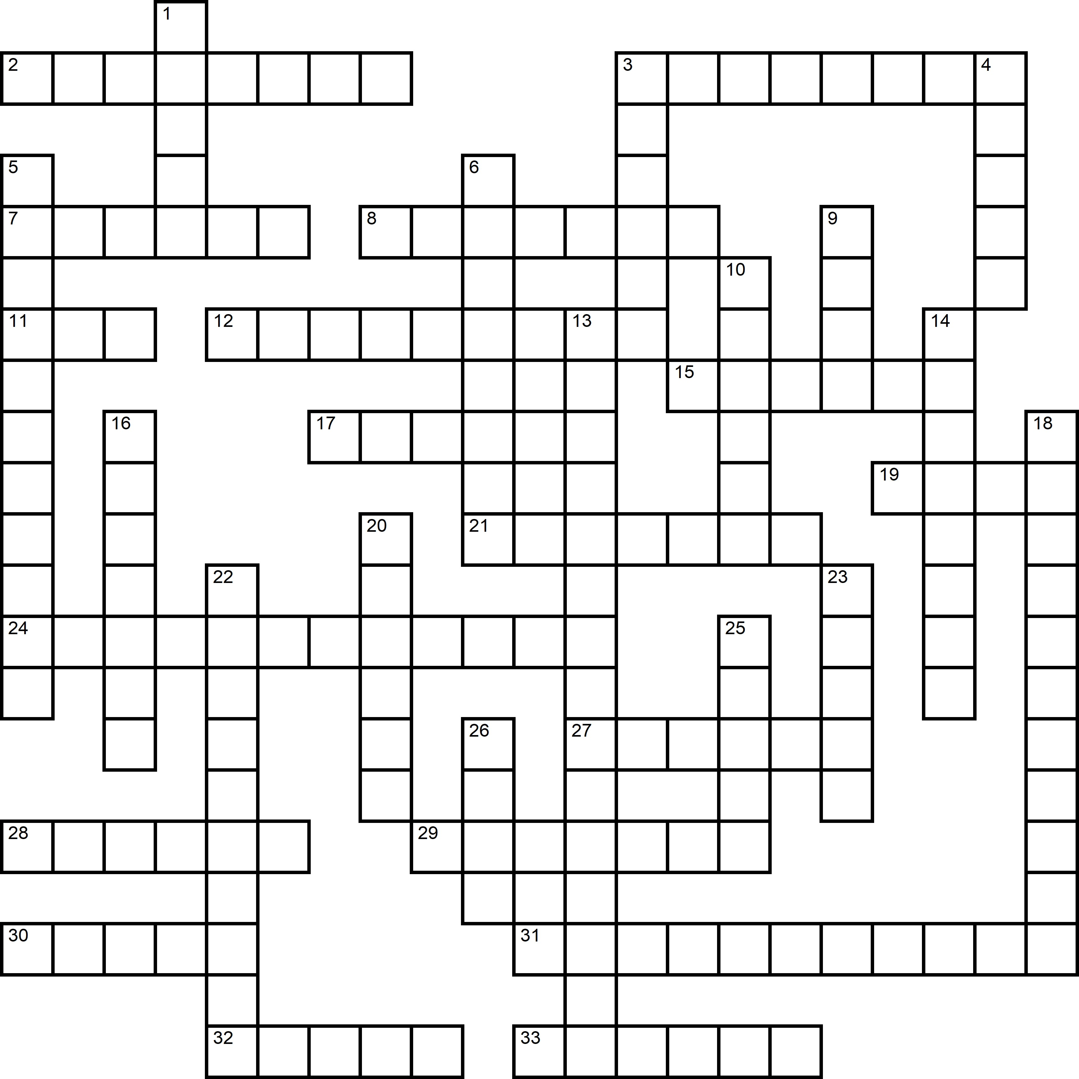 Easy Crossword About Food