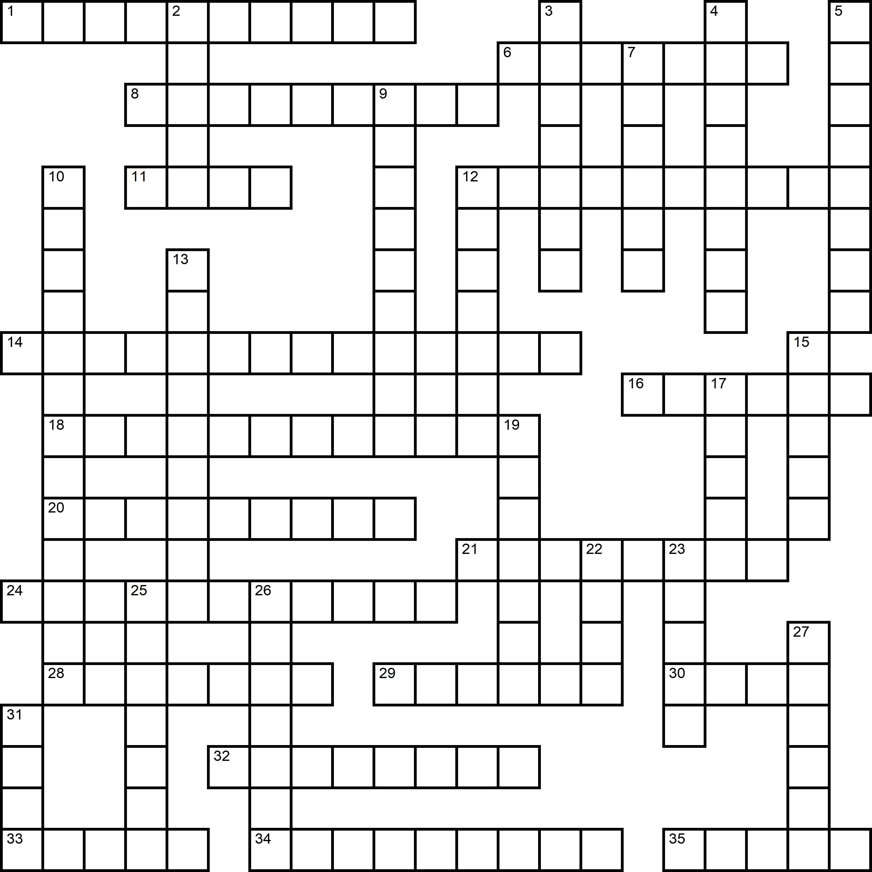 Easy Crossword About Pizza