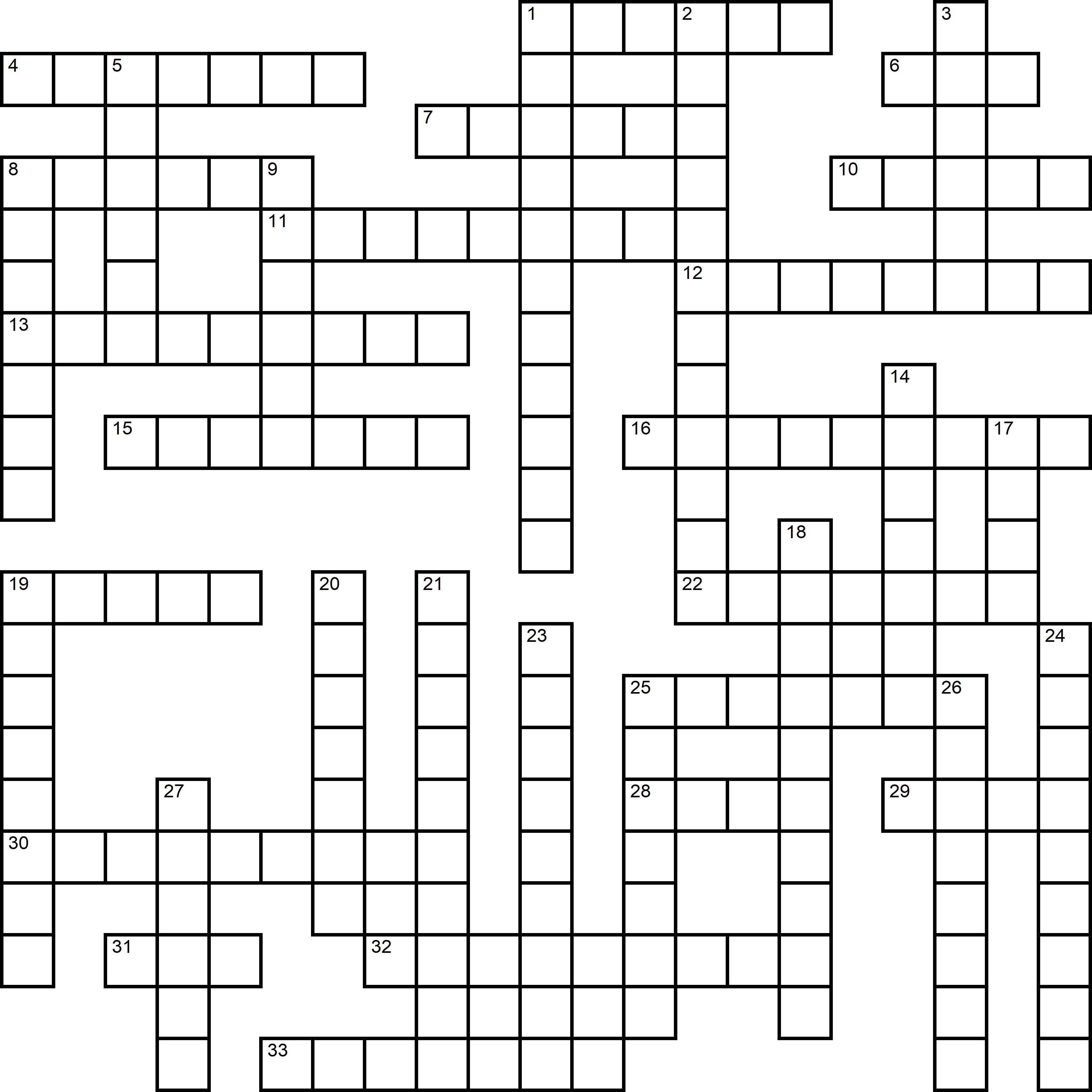 Easy Crossword About Sport