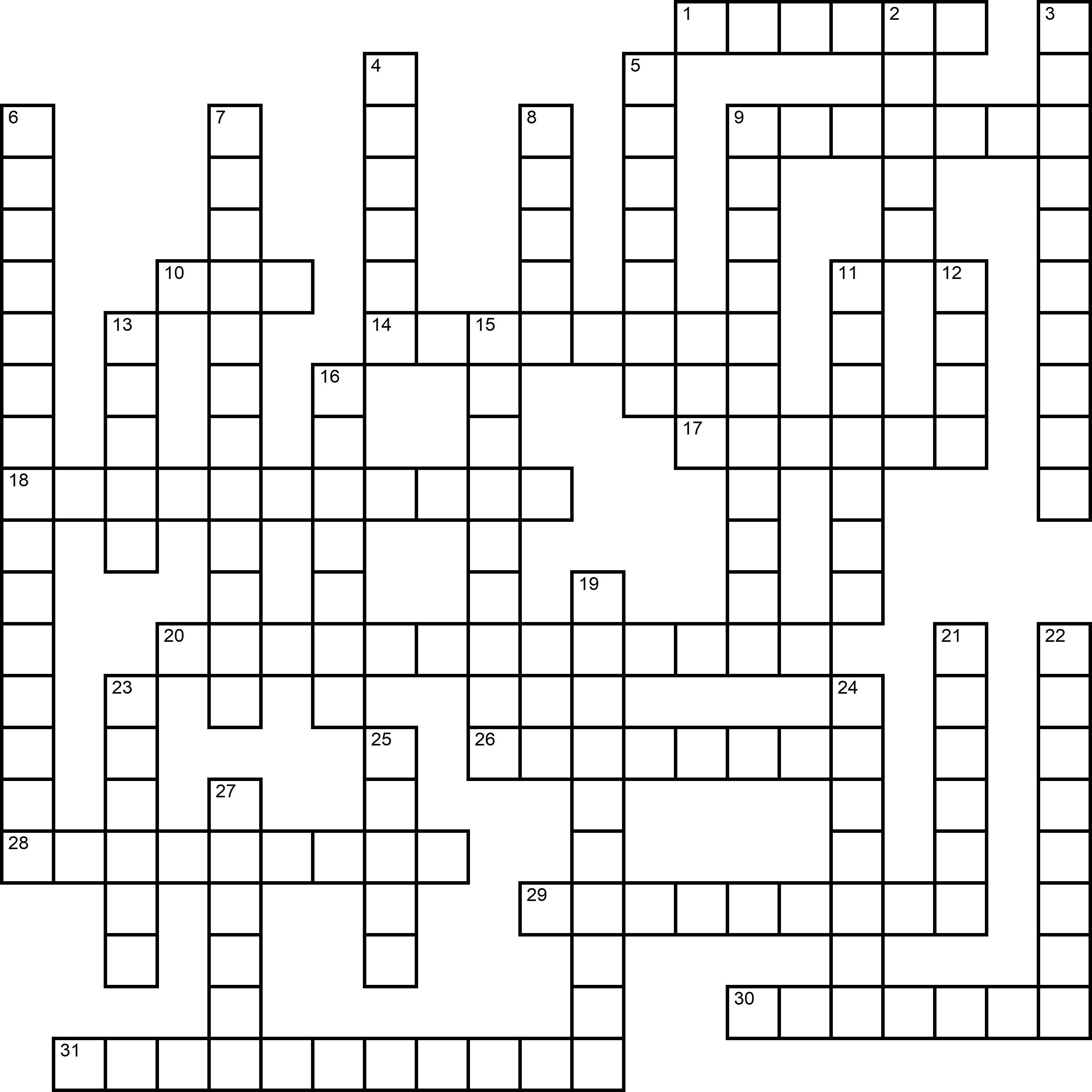 Easy Crossword About Take Your Dog To Work Day