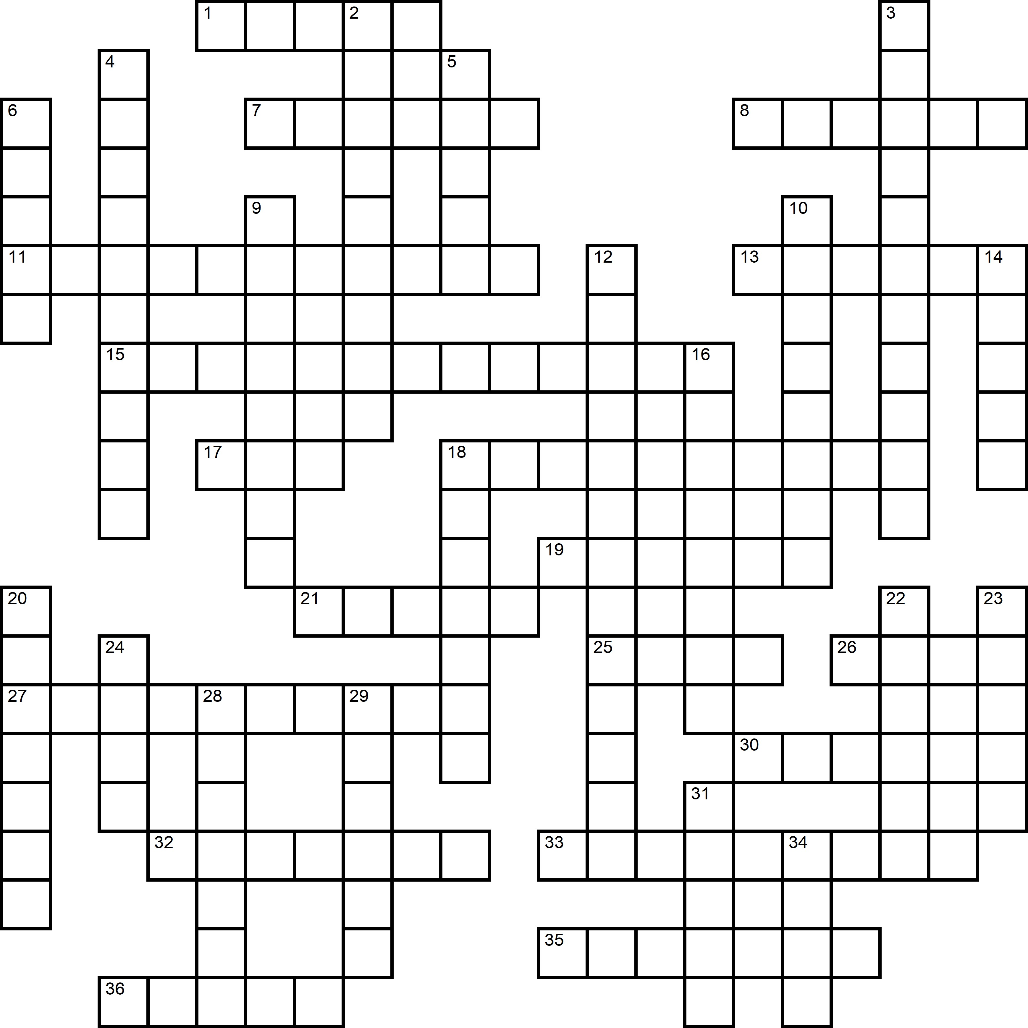 Easy Crossword About Blood Donor Day