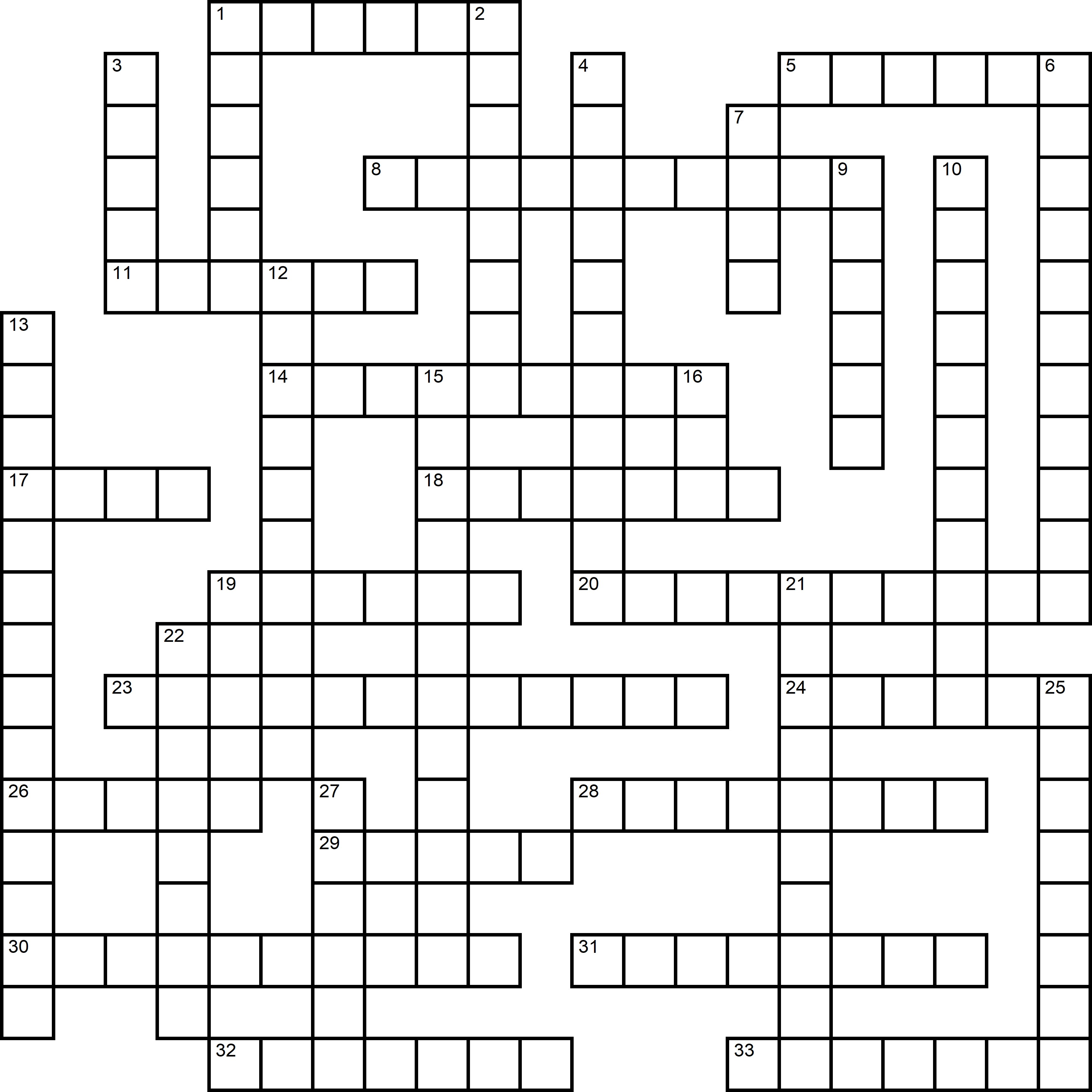 Easy Crossword About World Population Day
