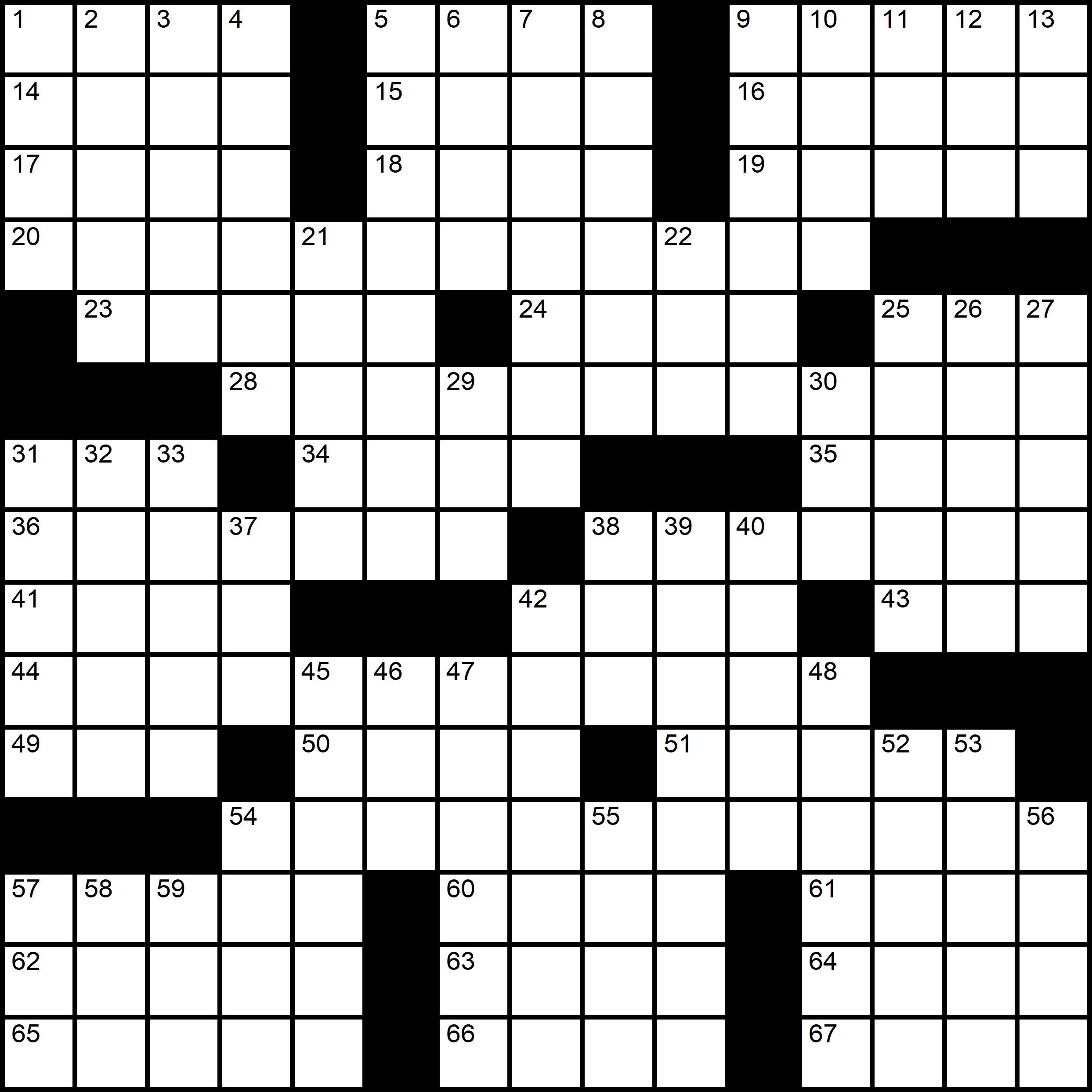 Easy Printable Crossword Series Indyword 2020 Snr1 Nr2