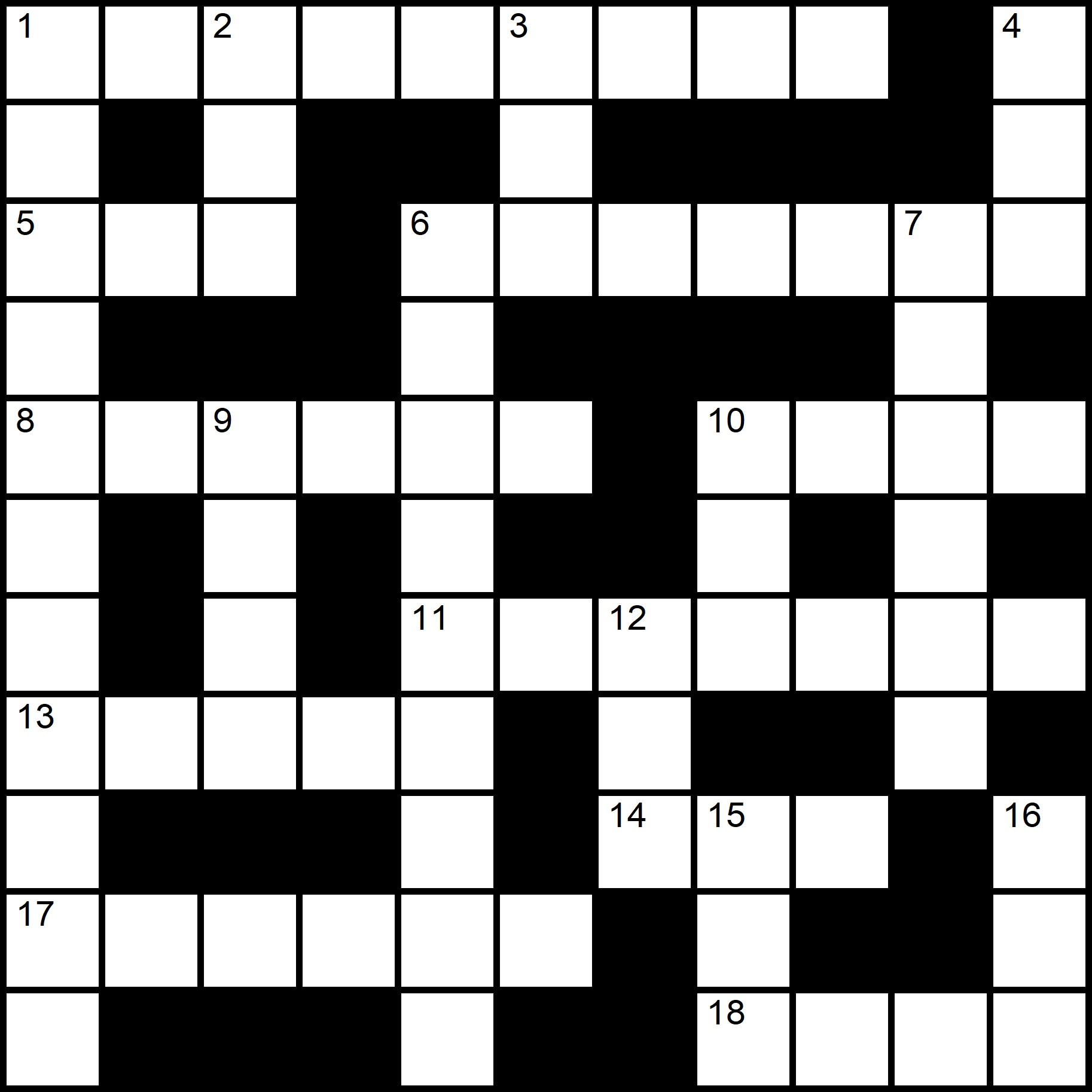 ESL Crosswords - Placidus Flora - Crossword number twelve