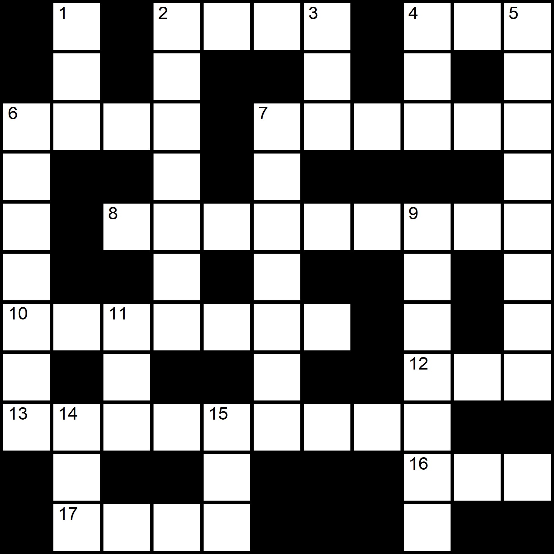 Online Indy Crosswords - Placidus Flora - Crossword number twenty