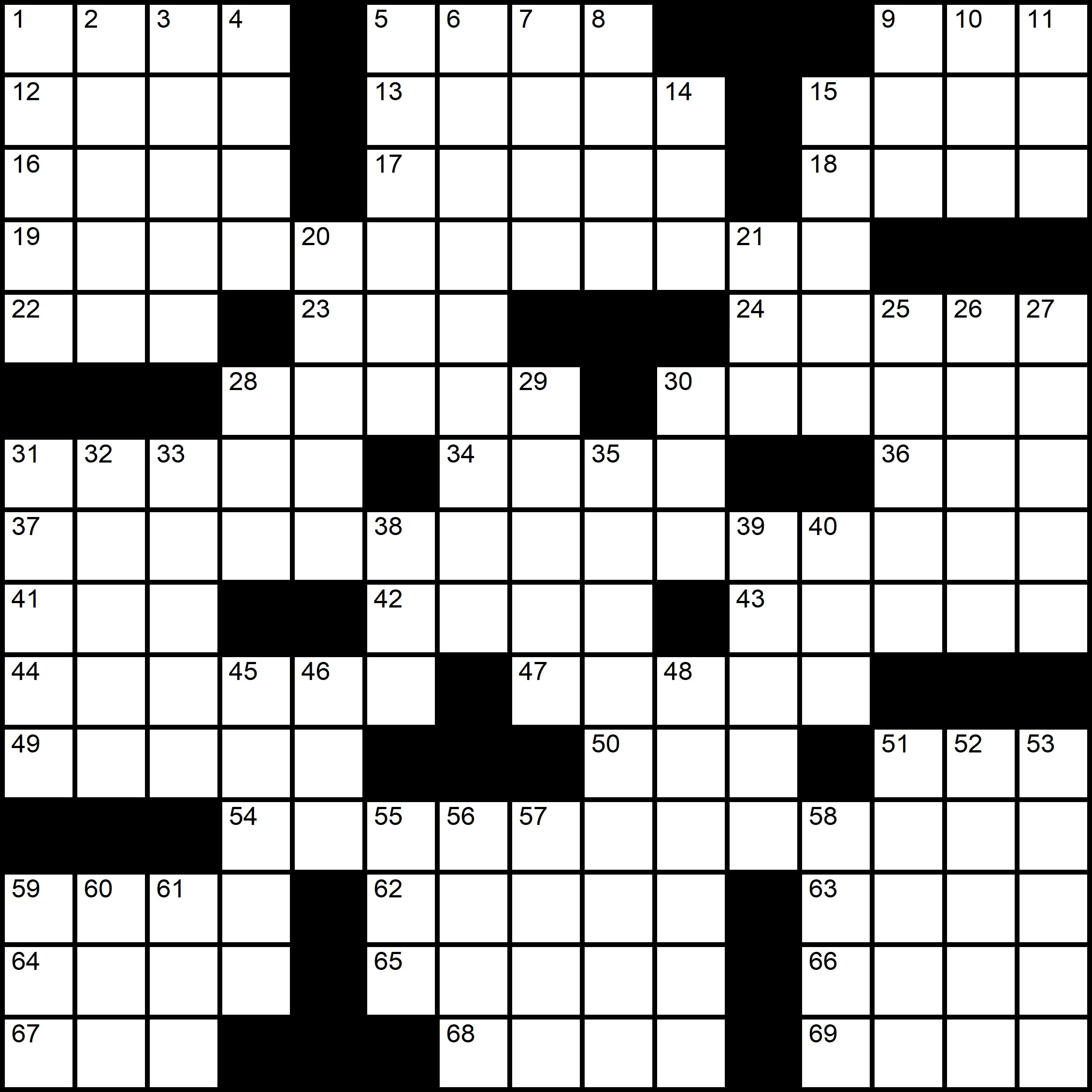 Pascal Baylon-Dietmar Themed Crossword Series