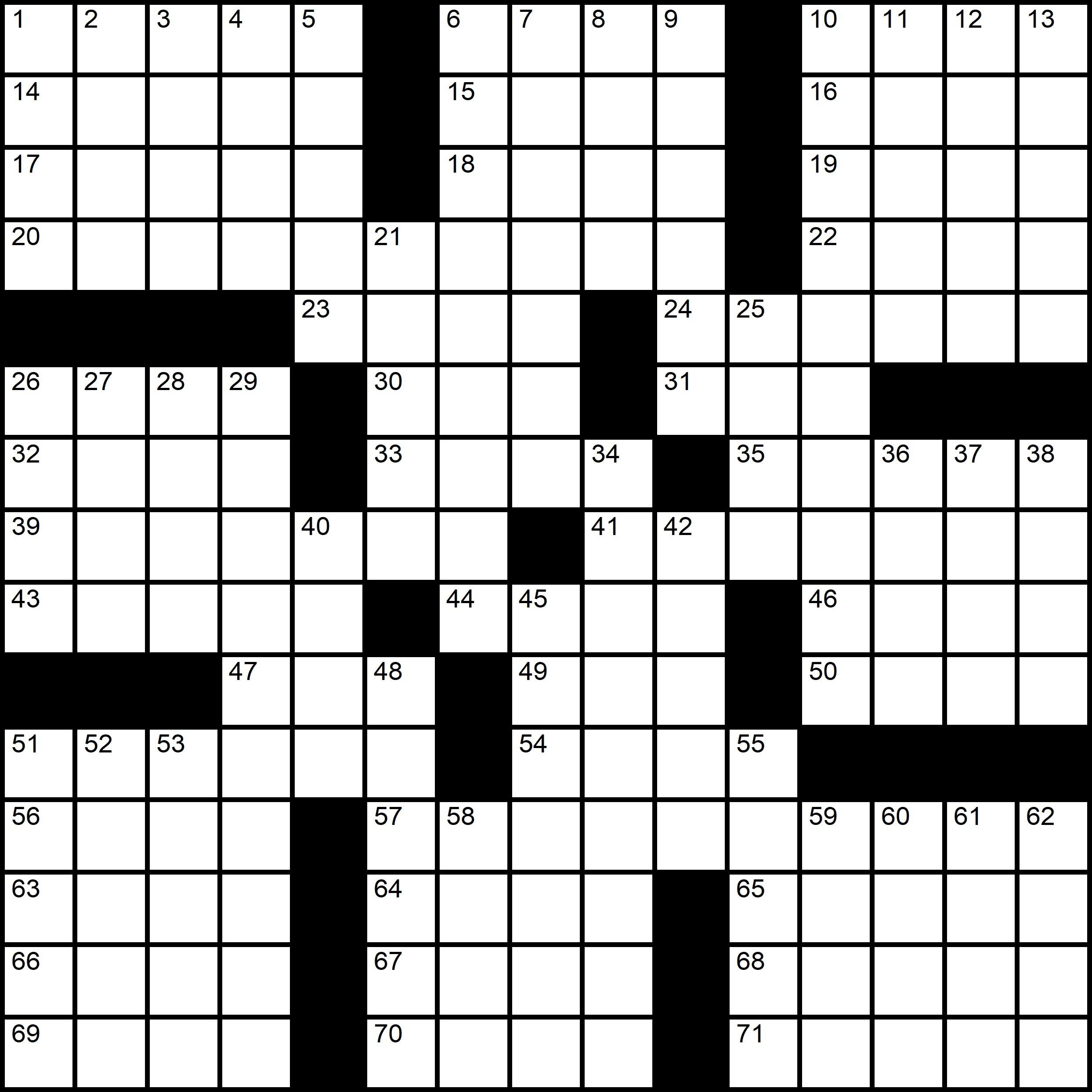 Themed Crossword Sicily Italy -  Pascal Baylon-Dietmar Themed Crossword Series - Crossword number two