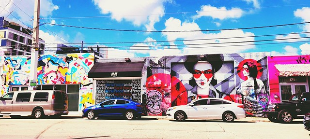 Street-Art - World Peace - Wynwood, Miami, Florida, USA - Courtesy of and pictured by Athena Iluz - Click here to see the original.
