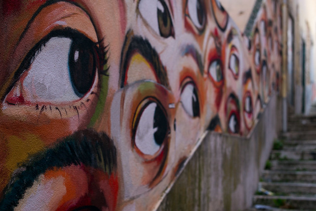 Eyes in the street - Courtesy and picture of Roman Boed
