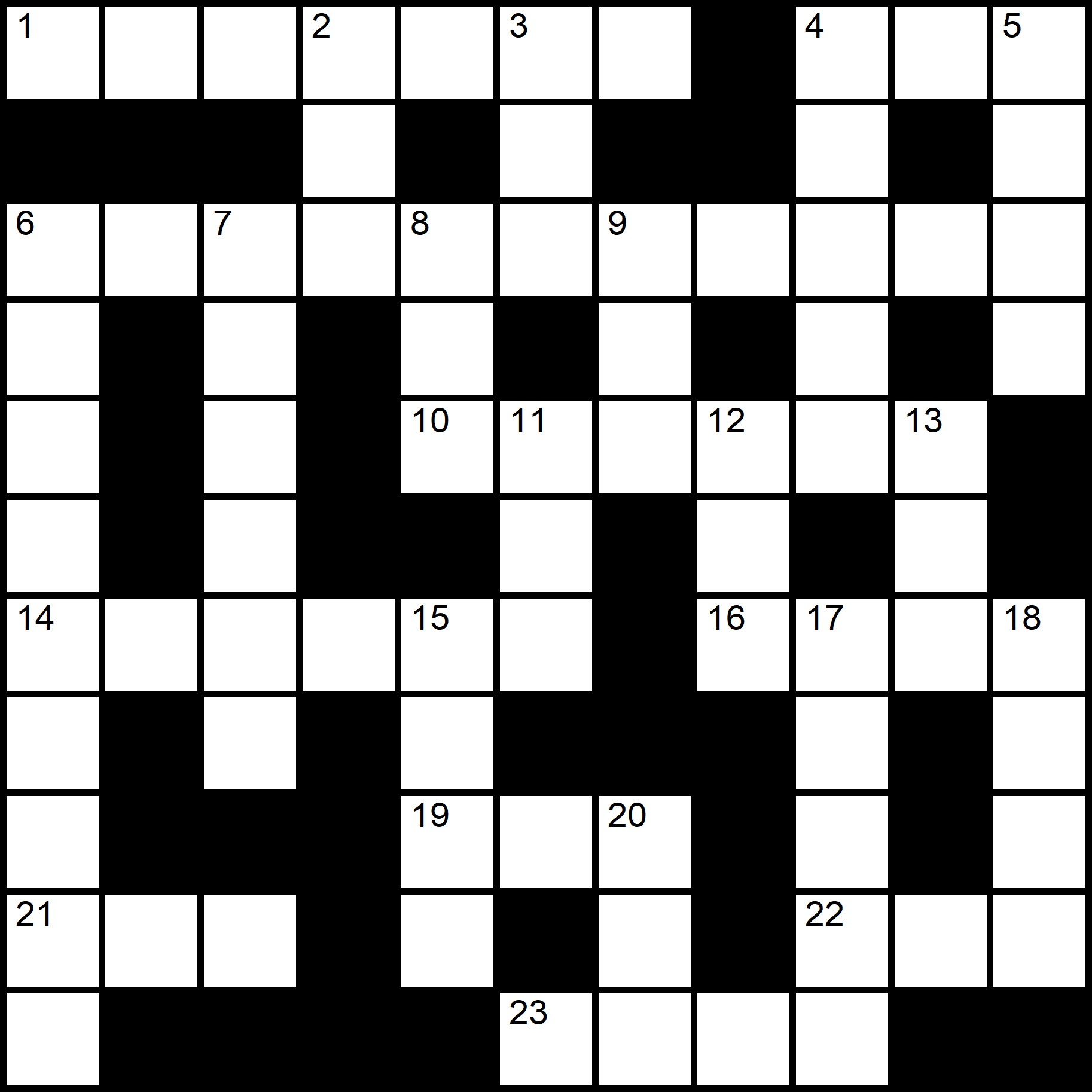 Easy Printable Crossword  - Placidus Flora - Crossword number four