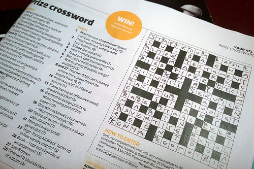10 Best Websites for Easy Printable Crossword Puzzles - Where can I find printable crossword puzzles that are easy? Courtesy of Pete aka comedy_nose @ www.flickr.com